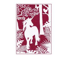 Unicorn, Wall Art, Papercut, Kids Room Decor, Papercutting, Baby Room Ideas, Decor Baby, Nursery Decor