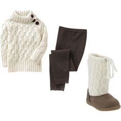 Toddler winter outfit. I'm so in love with this!!