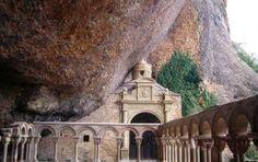 San Juan de la Peña Monastery in Aragón, Spain