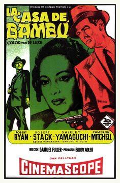 La casa de bambú (1955) EEUU. Dir: Samuel Fuller. Drama. Cine negro - DVD CINE 511