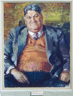 Archibald Prize: William Edwin Pidgeon – Mr Ray Walker