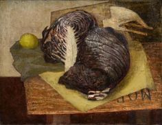 Still Life : Cabbage 1946 by Prunella Clough