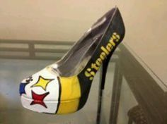 Steeler custome heels