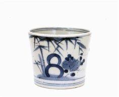 19C Japanese Blue White Imari Soba Choko Cup