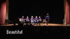 """""""Beautiful"""" is a moving skit created by students in Awareness through Performance (ATP) at the University of Wisconsin--La Crosse during the spring 2012 season. The scene carries a strong message, delivered by women to women, about the realities of sexual assault and being a survivor."""