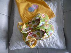 Espadrilles in gelb und grün Diese bequemen Schuhe sind in allen Größen zu nähen. Schnitt und Anleitung ist eine Erfindung von mir, nachdem ich die Inspiration von Tone Finnegan hatte.