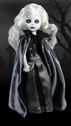 Siren Black & White Variation - Living Dead Dolls Series 5