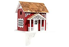 Swedish Cottage Birdhouse  Home Bazaar