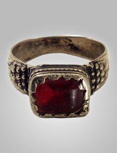 Antique  Mans  Gypsy Ring Romani  Culture by AncientAdornment, $30.00