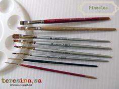 Curso de pintura textil II: Pinceles, paletas....