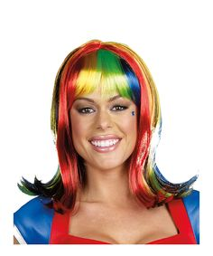 Take a look at this Rainbow Light-Up Wig on zulily today!