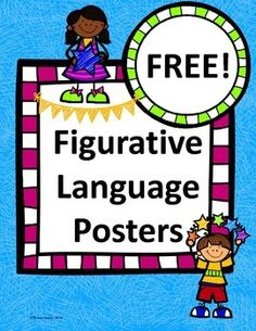 Free Figurative Language Posters!