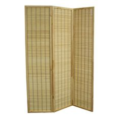 Ore International 70.25 Serenity 3 Panel Room Divider NYBB-082-3 - Ore International 70.25 Serenity 3 Panel Room Divider NYBB-082-3This stunning room divider is available all your decorating needs. It is crafted of bamboo matchsticks in a sleek, frameless design. Natural bamboo matchsticks are tightly woven to provide privacy.A simply classic look is captured with this gorgeous double-sided design.SKU: NYBB-082-3Manufacturer: Ore InternationalProduct Type: Panel ScreenUPC Code…