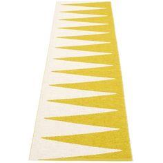 Pappelina Vivi Runner Rug Mustard