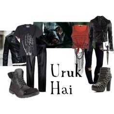 """Lord of the Rings/ The Hobbit-  """"Uruk hai"""" by companionclothes on Polyvore"""