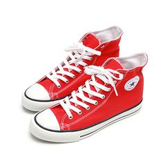 (ZSH047-RED) Casual Colorful Sneakers Walkers Shoes Rainbow Sneakers, Colorful Sneakers, Fashion Shoes, Men's Fashion, Walker Shoes, Dapper Dan, Chuck Taylor Sneakers, Sport, Casual
