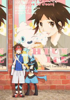 Tags: Anime, Pokémon, Lucario, Kyouhei, Vanillish