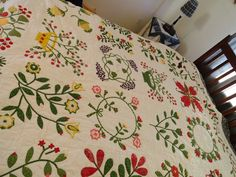 Signature Quilts, Look Back At Me, How To Finish A Quilt, Cherry Tree, Quilt Making, 50th Birthday, How To Memorize Things, About Me Blog