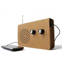 $28.95 Cardboard Radio