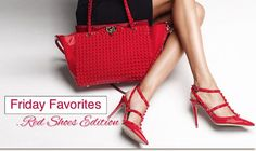 FRIDAY FAVORITES.....Red Shoes Edition