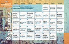 Demco Ideas blog activity calendars: Teen Activity Calendar: September 2016