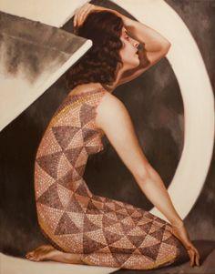 Alison Blickle. Pintura