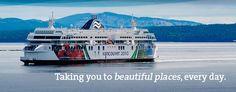BC ferries to vancouver island (victoria/nanimo/strathcona park)