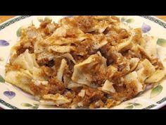 Retró káposztás tészta (cvekedli, kocka) - YouTube Apple Pie, Favorite Recipes, Meals, Instant Pot, Youtube, Desserts, Food, Tailgate Desserts, Deserts