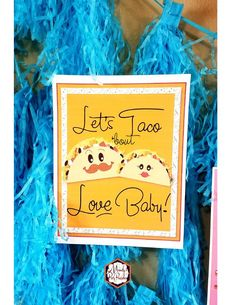 Let's Taco Bout Love Baby! 8x10 sign from a Taco Bout Love Valentine Taco Party | Mandy's Party Printables #valentineparty #tacoparty #tacoboutlove #ilovetacos #MPP #fiesta