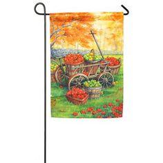 Grange Co-op: Apple Harvest Garden Sub Satin Flag