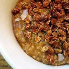Pumpkin Oats with Maple Syrup