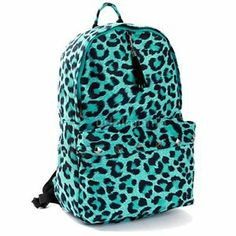 Large Sequin Cheetah Rucksack | Girls Rucksacks Fashion Bags ...