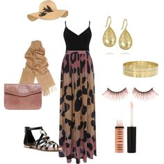 Summer Nights, created by stacey-melquist on Polyvore