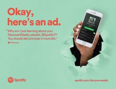 Nutmeg - Spotify - NYC Subway Ads - Okay, here's an an