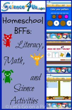 #ad Homeschool BFFs: Literacy, Math, and Science Activities from @Science4Us #hsreviews #ReviewCrew