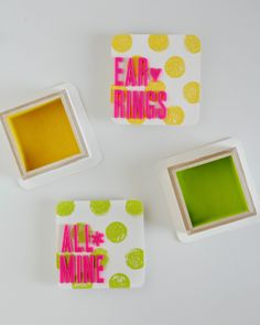 Polka Dot Boxes for Earrings and Little Trinkets | Great Gift Idea for Girls