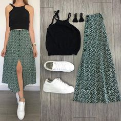 37 Street Wear and Casual Chic Outfits Trending this Fall Look Fashion, Skirt Fashion, Korean Fashion, Fashion Dresses, Fashion Design, Fashion Beauty, Hijab Fashion, Casual Chic Outfits, Trendy Outfits