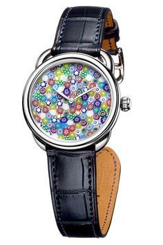 da79ca141665 Hermes-Arceau-Millefiori-multicoloured クールな時計, 男性用の時計,