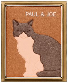 OMG I want eyeshadow that looks like cats too please. Paul and Joe via Temptalia via Powder Doom