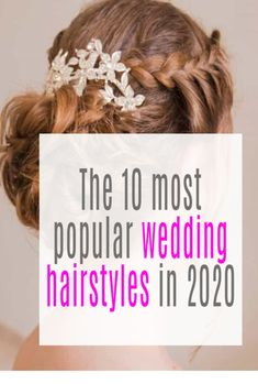 Which 10 Wedding Hairstyles Will Be The Most Popular in 2020 - come and take a peek. Which one would you choose - so manny lovely ideas Modern Hairstyles, Wedding Hairstyles For Long Hair, Twist Hairstyles, Bride Hairstyles, Loose Chignon, Messy Updo, Hollywood Waves, Pearl Hair Pins, Elegant Bride