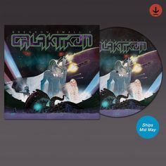 Galaktikon LP picture disc! WAAAAAY too excited about this. #vinyl #music