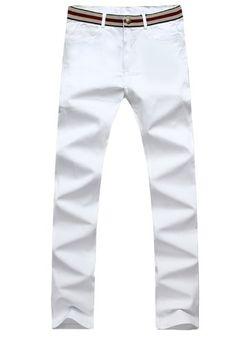 Wantdo cotton Big and Tall Men Skinny Slim Fit Pant White Pant 118 White WantDo Plus Men http://www.amazon.com/dp/B00J8KQ124/ref=cm_sw_r_pi_dp_w4oiub0HE75G4
