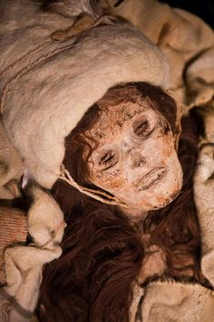 The Beauty of Xioahe, ... She is 3,800 years old, but she still turns heads. The mummified remains are of a Caucasian woman, found along the Silk Road in western China.