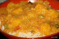 Curry vom Kürbis / Butternut-Squash-Curry / Slow cooker