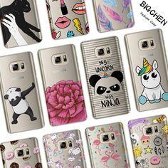 Caso divertido de la Historieta Para El Coque Samsung Galaxy S6 S7 S8 Borde Más J2 J3 J5 J7 A3 A5 2017 2016 2015 Teléfono Contraportada