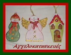 CHRISTMAS ORNAMENTS WITH SALT DOUGH