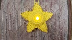 Lighted Star Ornament - Free Pattern