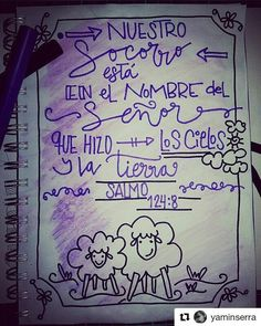 #Repost @yaminserra with @repostapp ・・・ Día #10  Salmo 91:4 - ❤ -  Mi Socorro Viene de Ti Dios, creador del Cielo y la tierra, mi pronto auxilio en la tormenta. 🎶🎼🎶🎵🎵 #LetteringBíblicoSeptiembre #ConfiandoEnSusPromesas #letteringconpropósito #handlettering #typography #handletter #lettering #LetteringBeginner #handmade #watercolour #caligritype #journaling #BibleJournaling #brushlettering #biblejournalingenespañol   #Salmos #GraciayConocimiento