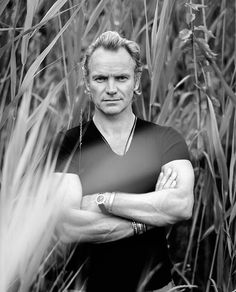 Sting. Love this pic❣