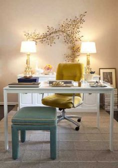 Excelent Creative Ways To Decorate Your Office Space